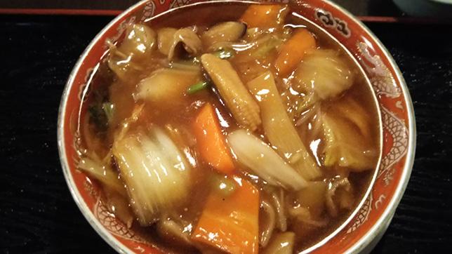 五目あんかけ湯麺