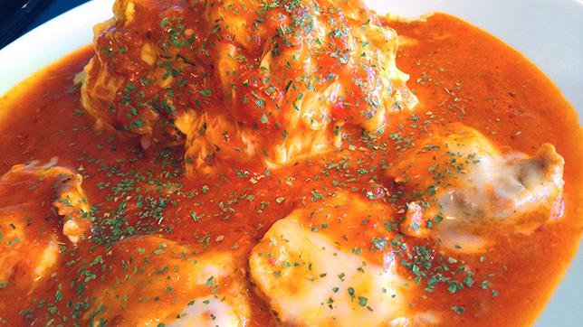 チーズトマトチキンオムライスアップ