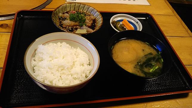 日替わり定食 ¥650