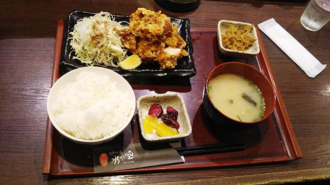中津からあげ定食 ¥680