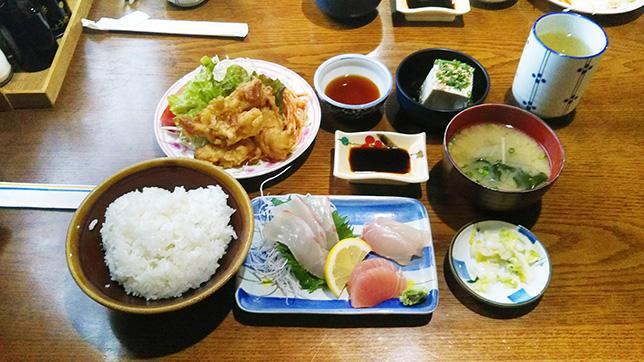 葉竹定食 ¥750