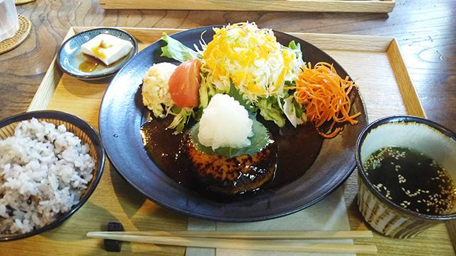 おろし豆腐ハンバーグ ¥950