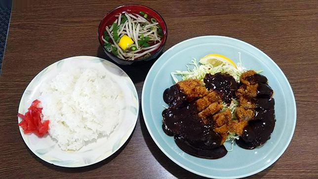 みそかつ定食 ¥700