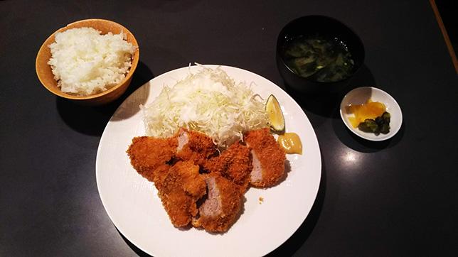 トンカツ ヒレ ¥1,300