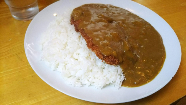 カツカレー ¥650