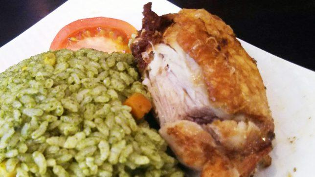 ペルーライスの鶏肉