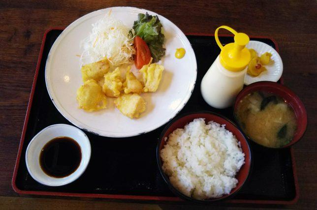 とり天定食 ¥500