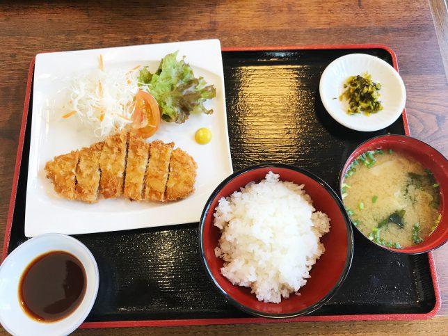とんかつ定食 ¥500
