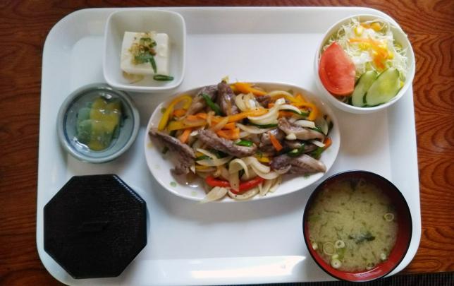 岩塩焼き定食 ¥750