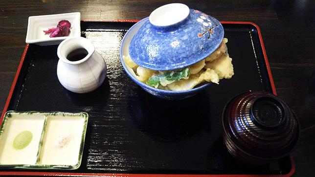 名物 海鮮天丼 ¥1,080