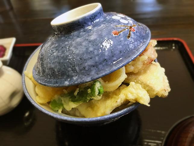 海鮮天丼アップ