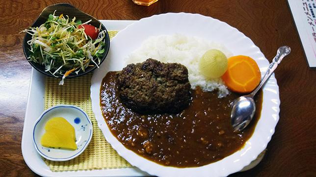 日替わり(ハンバーグカレー) ¥600