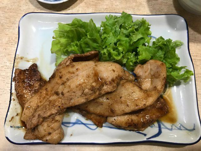 生姜焼き定食 ¥600