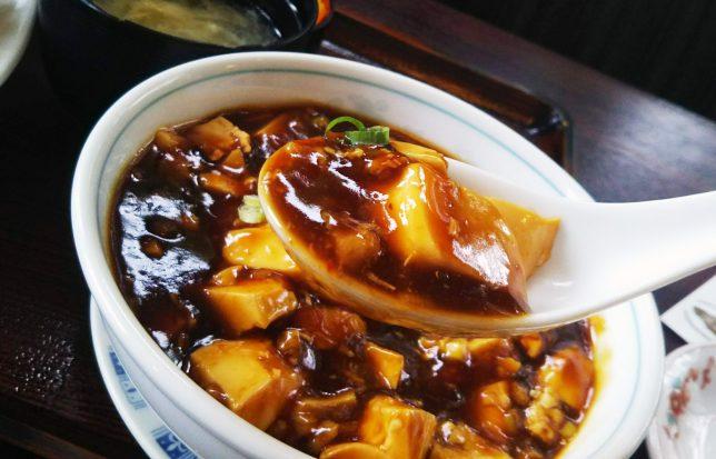 東洋軒麻婆豆腐アップ2