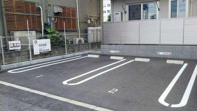 カレーハウスうえの駐車場