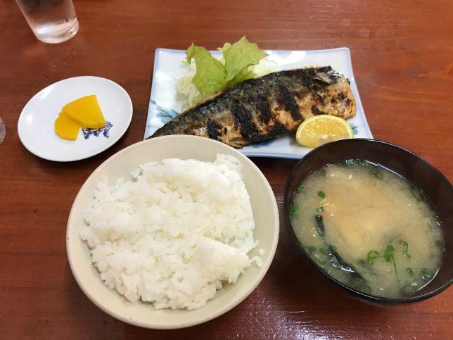 焼魚定食 ¥600