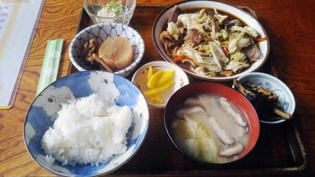焼肉定食 ¥700