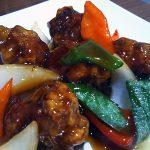 中華料理 煌華(こうか):バーのような裏口の中華料理店。オススメは酢豚!