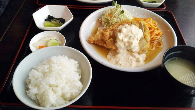 チキン南蛮定食 ¥780