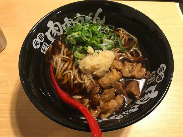 肉肉そば ¥680