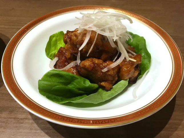鶏肉の黒酢かけ ¥770