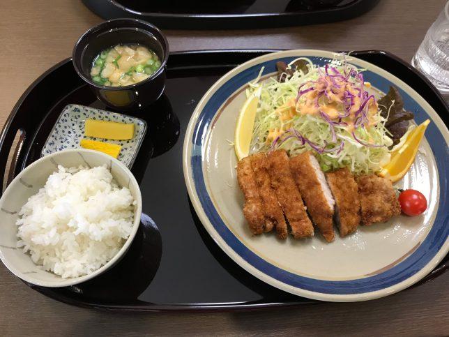 ロースカツ定食120g ¥1200