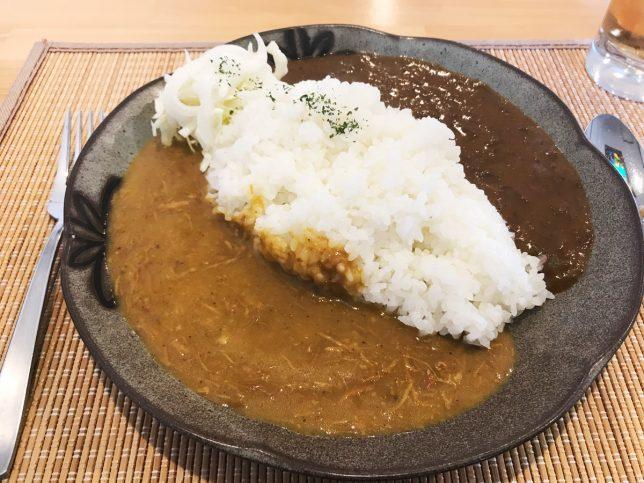 ハーフ&ハーフ(ビーフとチキン) ¥730