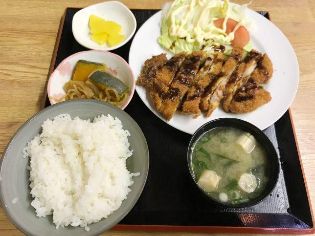 トンカツ定食 ¥600