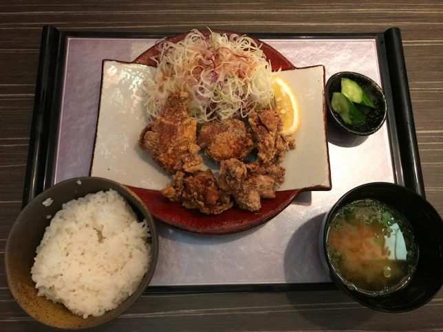 塩からあげ定食 ¥680