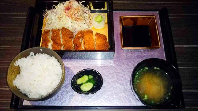 本日の日替わり おろしチキンカツ定食 ¥580