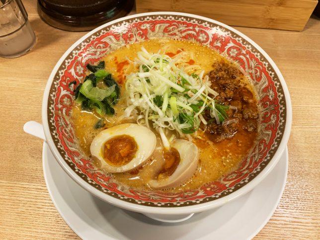 やみつき特製赤担々麺 ¥780
