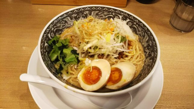 王道特製汁なし担々麺 ¥780