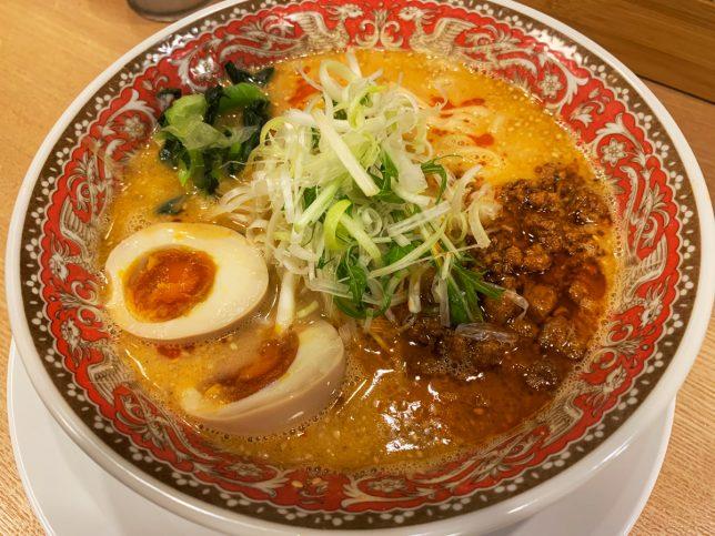 赤担々麺アップ2