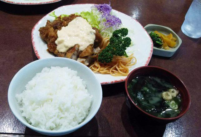 南ばん定食 ¥1,080