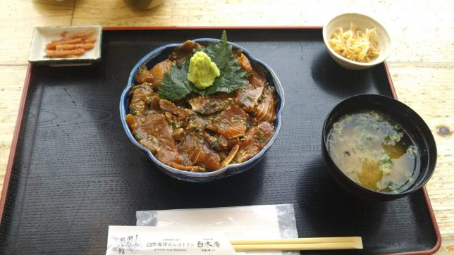 りゅうきゅう丼 ¥1,000