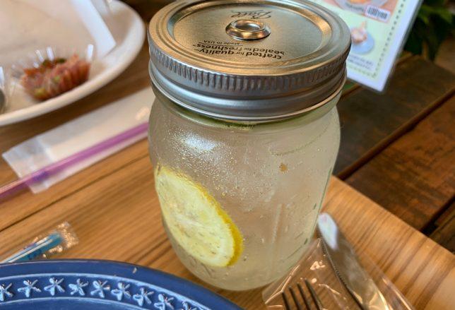 自家製レモンソーダ ¥300