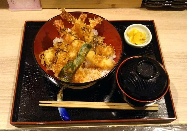 海老天丼 ¥900