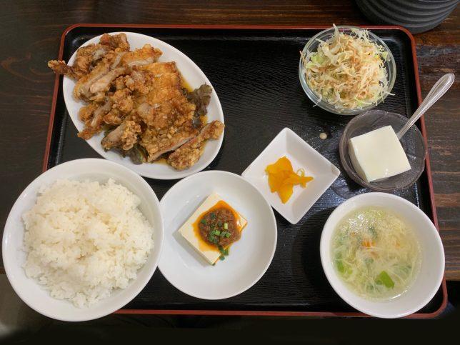 油淋鶏定食 ¥750