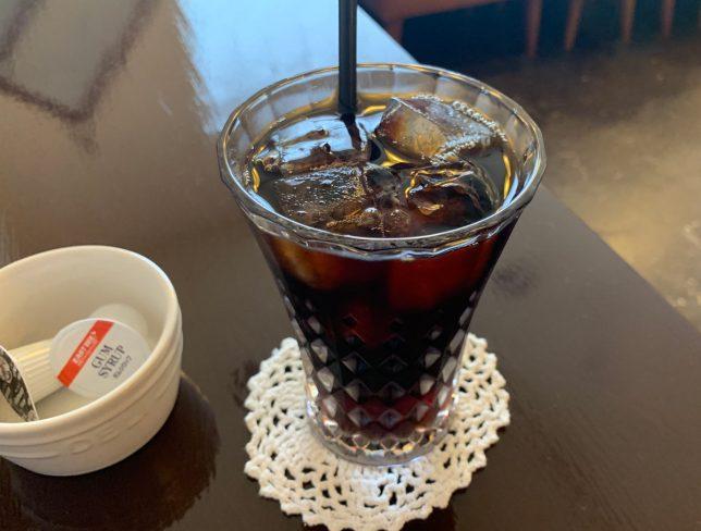 水出しコーヒー ¥500