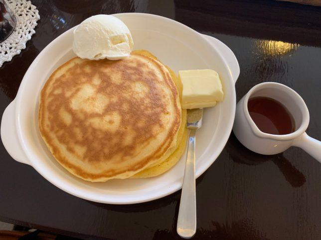 ホットケーキ ¥650