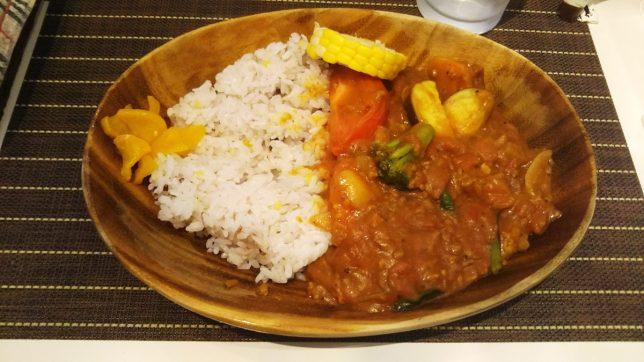 ベーシックトマトカレー ¥800