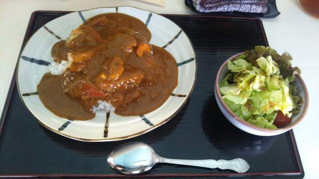 シーフードカレー ¥660
