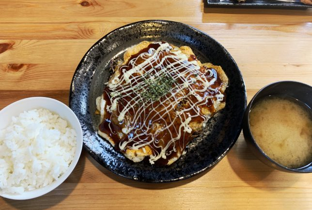 お好み焼き(広島風) ¥500