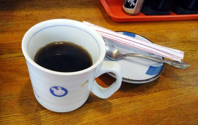 和食後コーヒー