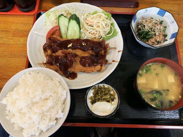串かつ定食 ¥780