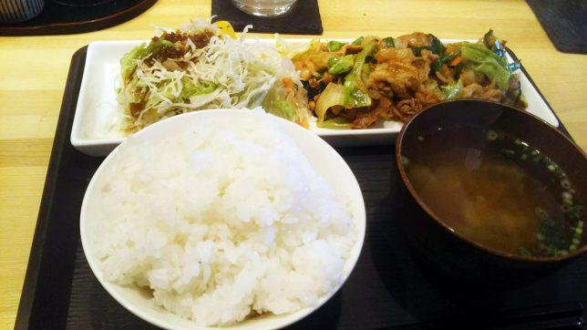日替わりランチ 豚キムチ ¥600