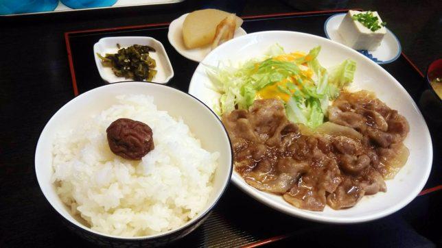 豚生姜焼き ¥650