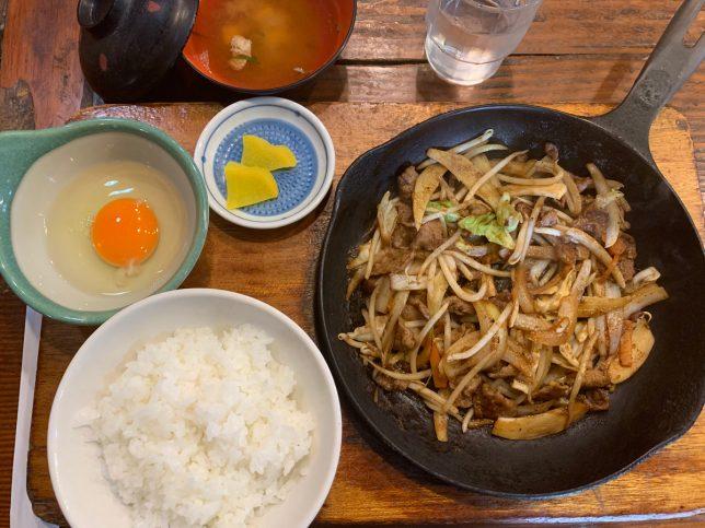 スタミナ定食 ¥880