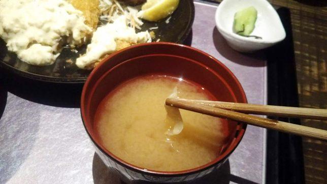 味噌汁アップ
