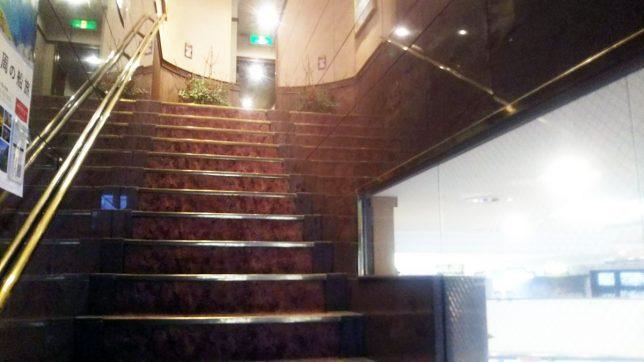 菊家2F階段